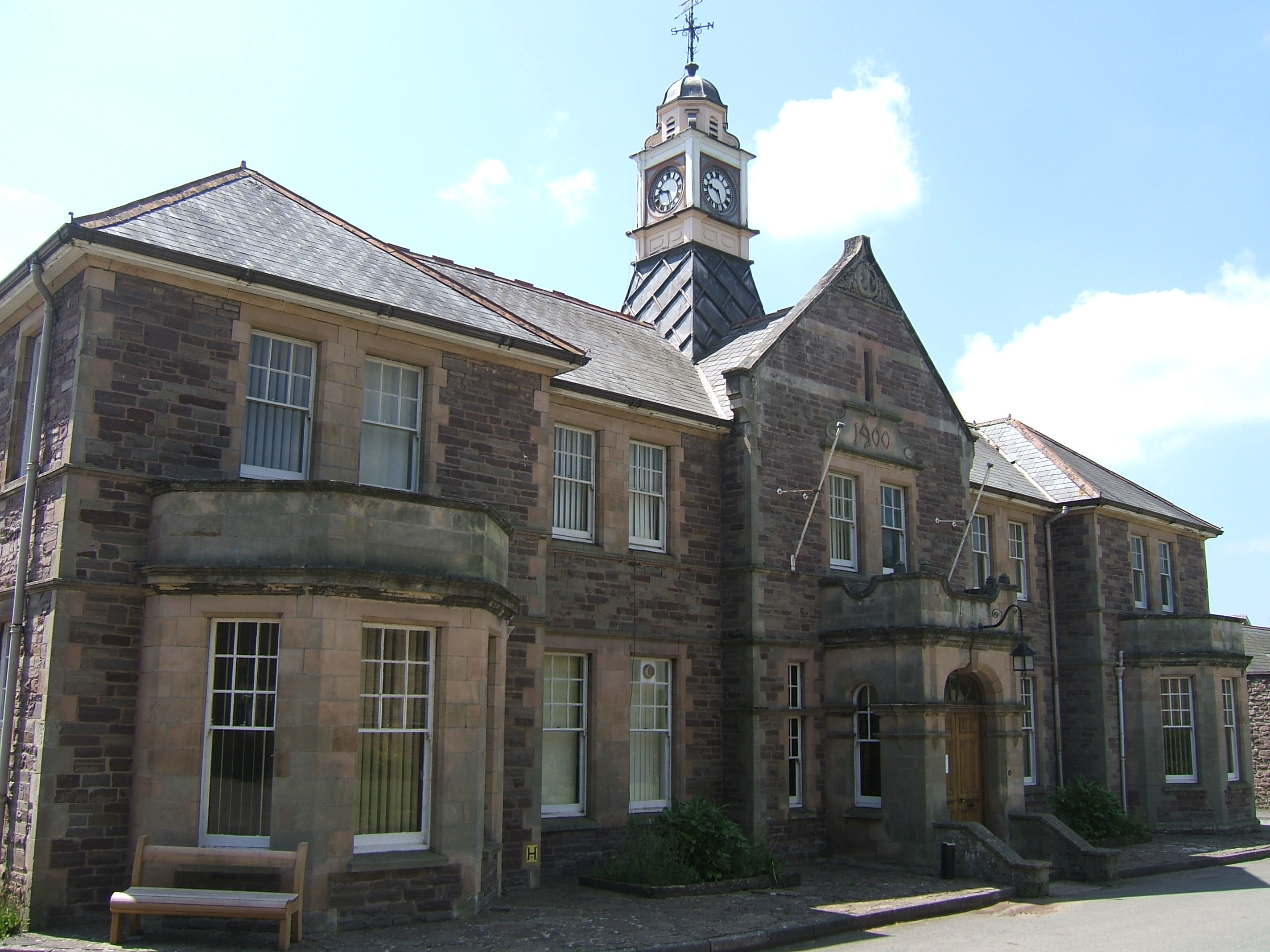 Mid Wales Hospital Talgarth County Asylums