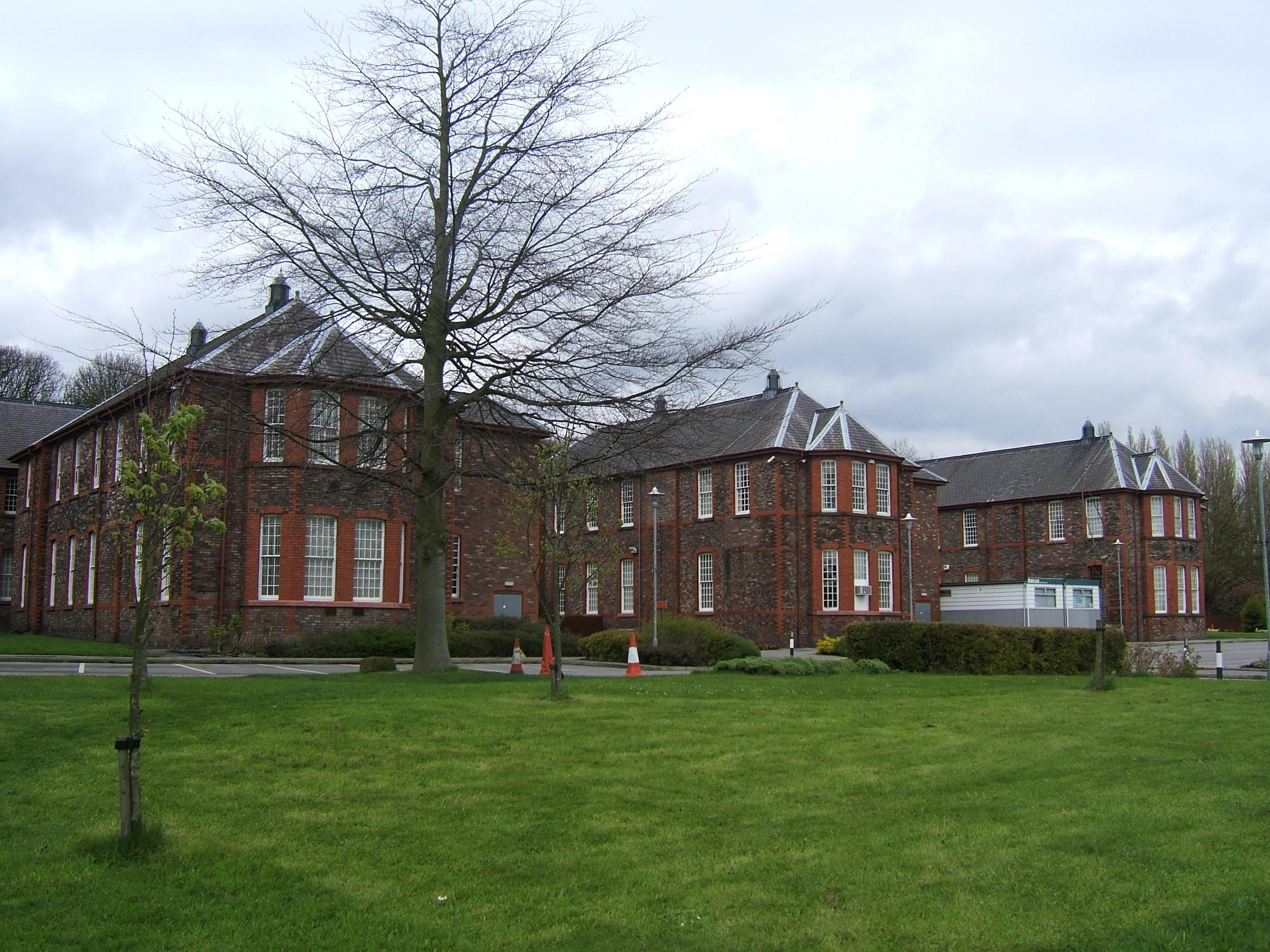 Mental hospital warrington