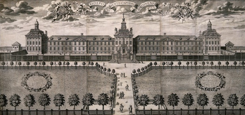 V0017202 Bethlem hospital, London. Engraving. Credit: Wellcome Library, London. Wellcome Images images@wellcome.ac.uk http://images.wellcome.ac.uk Bethlem hospital, London. Engraving. Published: - Copyrighted work available under Creative Commons by-nc 2.0 UK, see http://images.wellcome.ac.uk/indexplus/page/Prices.html