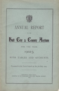 Annual Report of the Hull City & County Asylum for the Year 1902-3